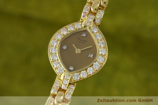montre de luxe d occasion Chopard * or 18 ct quartz Kal. ETA 201.001  | 151276 04