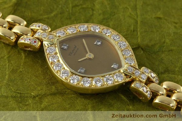 montre de luxe d occasion Chopard * or 18 ct quartz Kal. ETA 201.001  | 151276 12