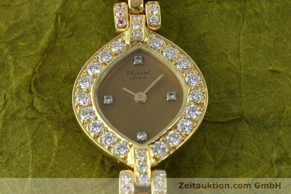 montre de luxe d occasion Chopard * or 18 ct quartz Kal. ETA 201.001  | 151276 13