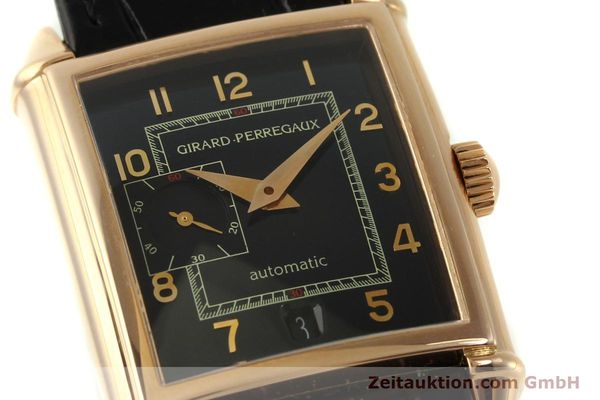 Used luxury watch Girard Perregaux Vintage 18 ct red gold automatic Kal. 3200 Ref. 2596 VINTAGE  | 151277 02