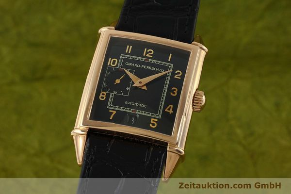 Used luxury watch Girard Perregaux Vintage 18 ct red gold automatic Kal. 3200 Ref. 2596 VINTAGE  | 151277 04