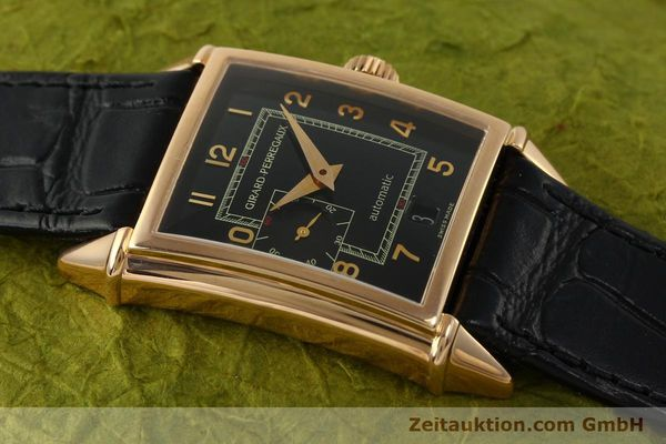 Used luxury watch Girard Perregaux Vintage 18 ct red gold automatic Kal. 3200 Ref. 2596 VINTAGE  | 151277 13