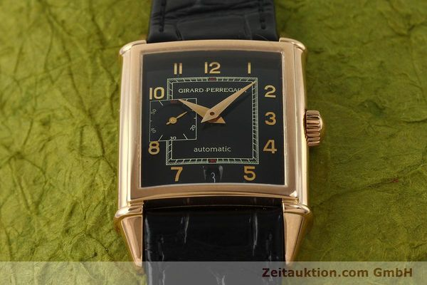 Used luxury watch Girard Perregaux Vintage 18 ct red gold automatic Kal. 3200 Ref. 2596 VINTAGE  | 151277 14
