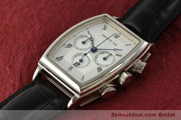 Used luxury watch Breguet Heritage  chronograph 18 ct white gold automatic Kal. 550 Ref. 5460  | 151278 01