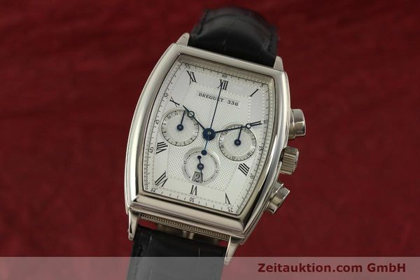 Used luxury watch Breguet Heritage  chronograph 18 ct white gold automatic Kal. 550 Ref. 5460  | 151278 04