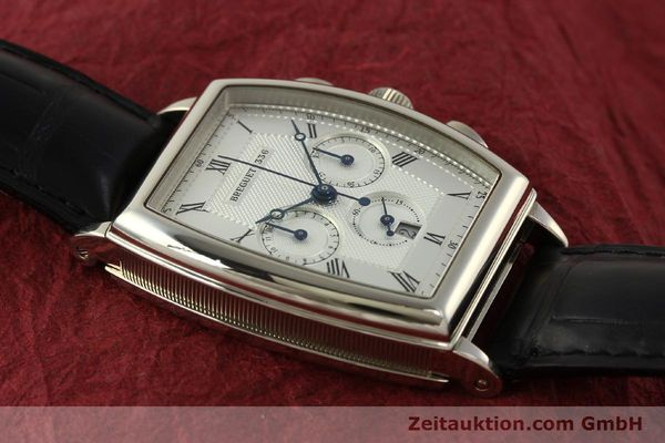 Used luxury watch Breguet Heritage  chronograph 18 ct white gold automatic Kal. 550 Ref. 5460  | 151278 16
