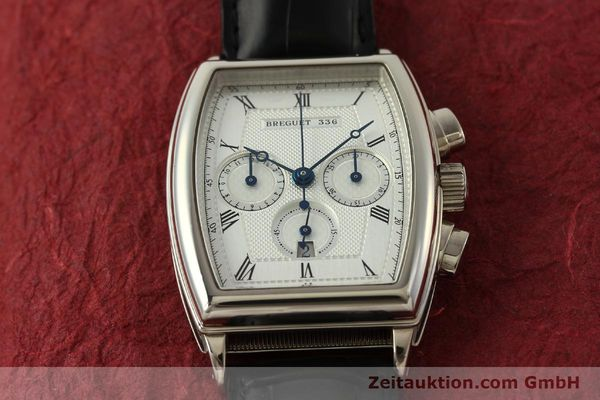 Used luxury watch Breguet Heritage  chronograph 18 ct white gold automatic Kal. 550 Ref. 5460  | 151278 17