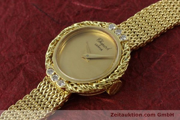 Used luxury watch Chopard * 18 ct gold manual winding  | 151281 01