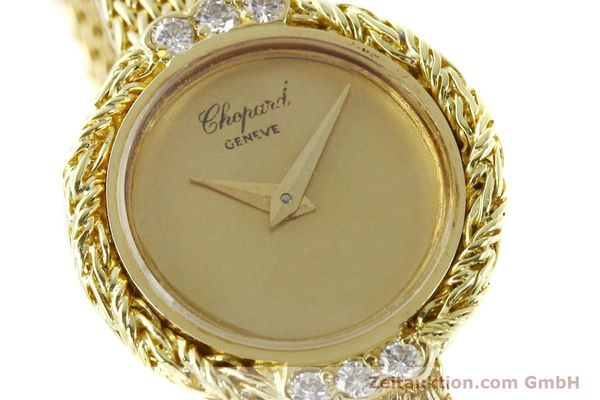 Used luxury watch Chopard * 18 ct gold manual winding  | 151281 02