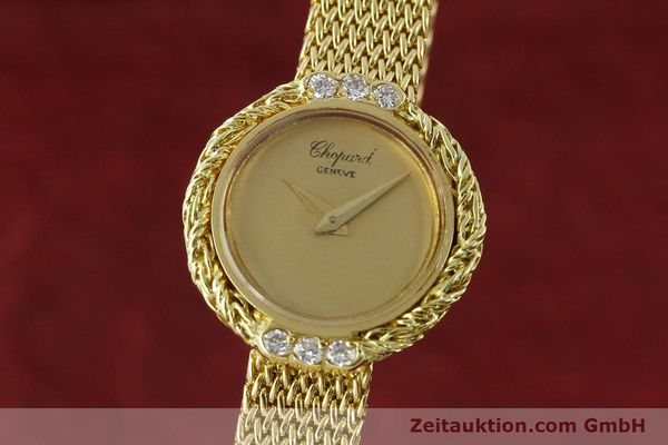 Used luxury watch Chopard * 18 ct gold manual winding  | 151281 04