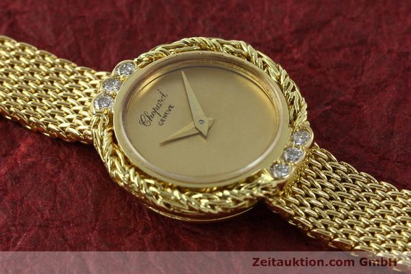Used luxury watch Chopard * 18 ct gold manual winding  | 151281 15