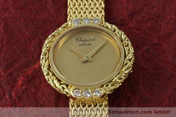 Used luxury watch Chopard * 18 ct gold manual winding  | 151281 16