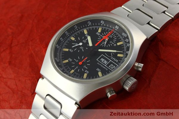 Used luxury watch Sinn 157 chronograph steel automatic Kal. 5100  | 151282 01
