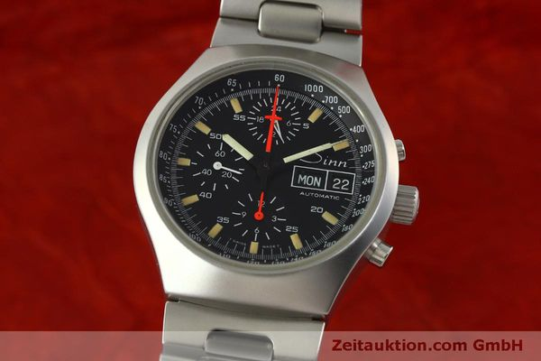 Used luxury watch Sinn 157 chronograph steel automatic Kal. 5100  | 151282 04