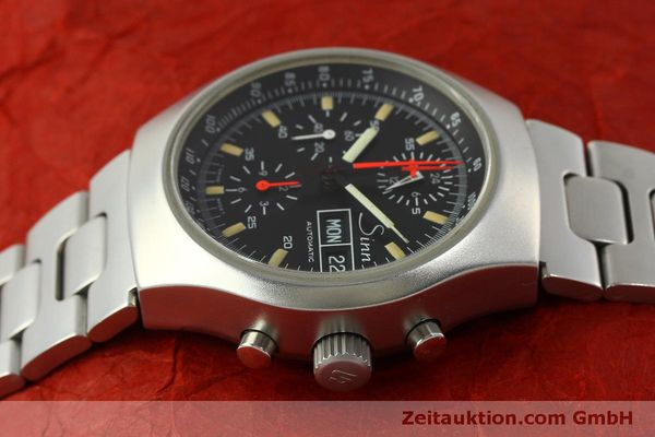 Used luxury watch Sinn 157 chronograph steel automatic Kal. 5100  | 151282 05