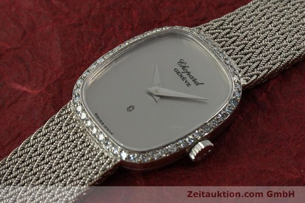 Used luxury watch Chopard * 18 ct white gold quartz Kal. 602  | 151287 01