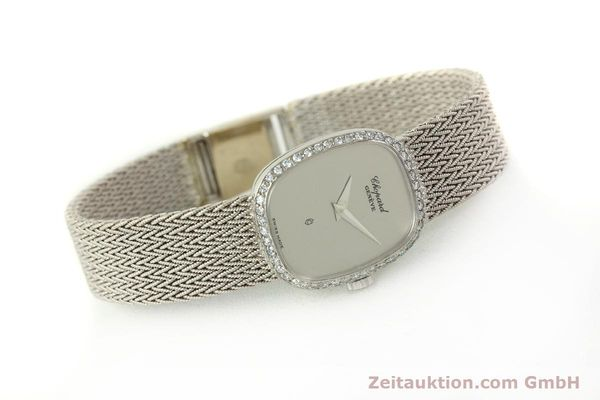 Used luxury watch Chopard * 18 ct white gold quartz Kal. 602  | 151287 03