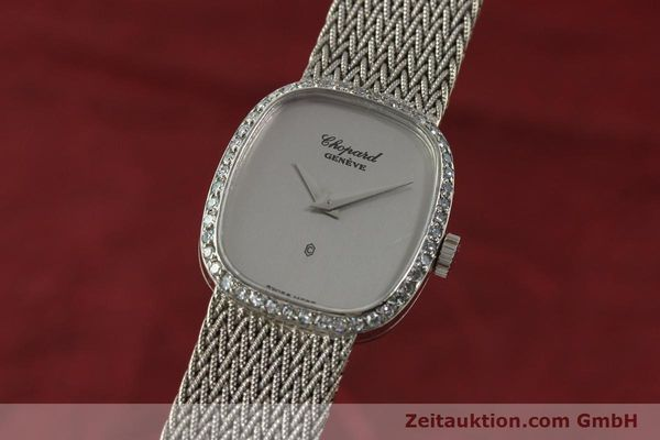Used luxury watch Chopard * 18 ct white gold quartz Kal. 602  | 151287 04