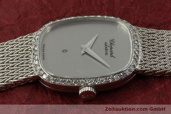 Used luxury watch Chopard * 18 ct white gold quartz Kal. 602  | 151287 05