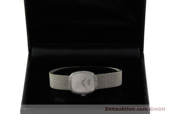 Used luxury watch Chopard * 18 ct white gold quartz Kal. 602  | 151287 07