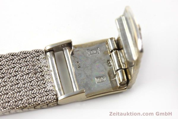 Used luxury watch Chopard * 18 ct white gold quartz Kal. 602  | 151287 12