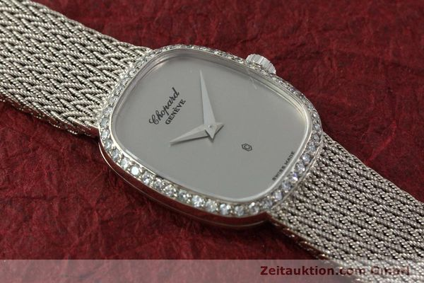 Used luxury watch Chopard * 18 ct white gold quartz Kal. 602  | 151287 14