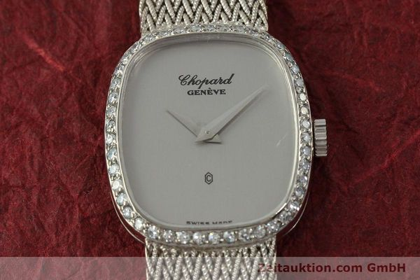 Used luxury watch Chopard * 18 ct white gold quartz Kal. 602  | 151287 15