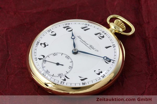 Used luxury watch IWC Taschenuhr 18 ct gold manual winding  | 151288 01