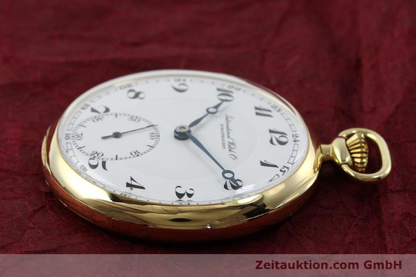 Used luxury watch IWC Taschenuhr 18 ct gold manual winding  | 151288 03
