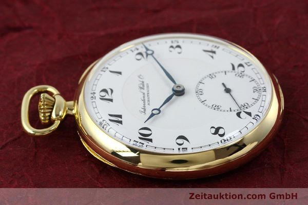 Used luxury watch IWC Taschenuhr 18 ct gold manual winding  | 151288 05