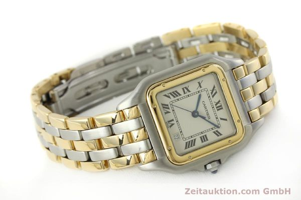 Used luxury watch Cartier Panthere steel / gold quartz Kal. 87  | 151292 03