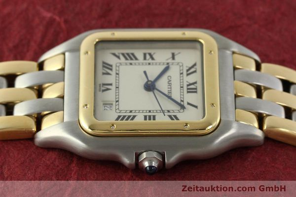 Used luxury watch Cartier Panthere steel / gold quartz Kal. 87  | 151292 05