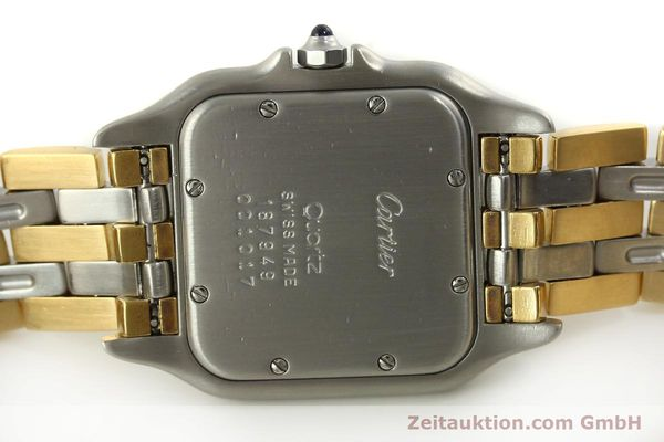 Used luxury watch Cartier Panthere steel / gold quartz Kal. 87  | 151292 09