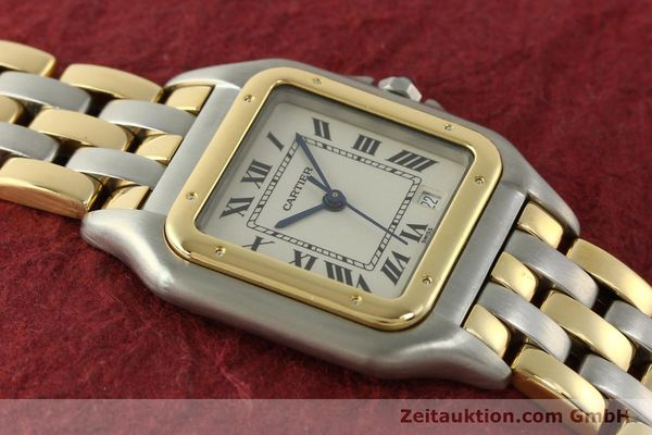 Used luxury watch Cartier Panthere steel / gold quartz Kal. 87  | 151292 14