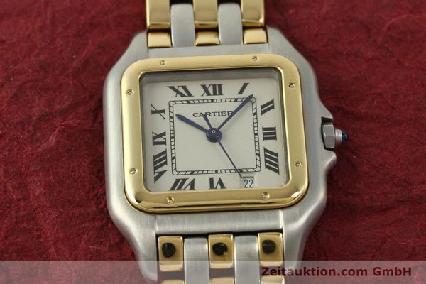 Used luxury watch Cartier Panthere steel / gold quartz Kal. 87  | 151292 15