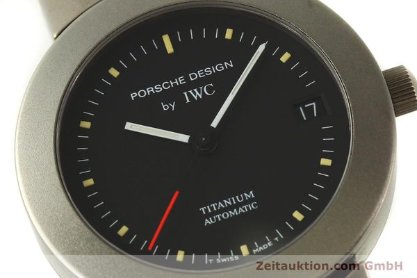 Used luxury watch IWC Porsche Design titanium automatic Kal. C.37524  | 151293 02