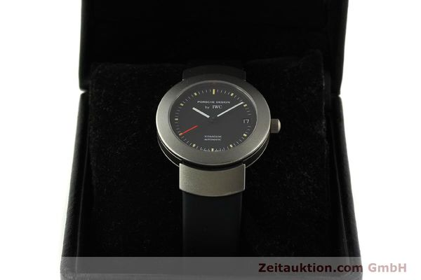 Used luxury watch IWC Porsche Design titanium automatic Kal. C.37524  | 151293 07