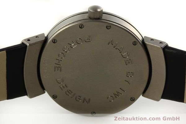 Used luxury watch IWC Porsche Design titanium automatic Kal. C.37524  | 151293 09