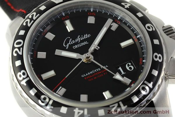 Used luxury watch Glashütte Sport Evolution  steel automatic Kal. 39 Ref. 39-55-43-03-14  | 151295 02