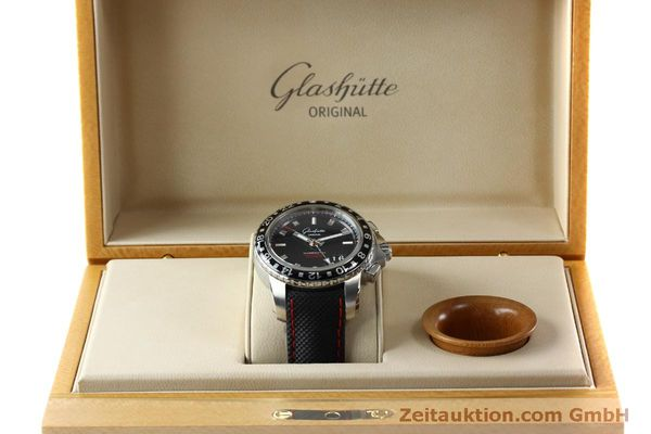 Used luxury watch Glashütte Sport Evolution  steel automatic Kal. 39 Ref. 39-55-43-03-14  | 151295 07