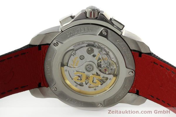 Used luxury watch Glashütte Sport Evolution  steel automatic Kal. 39 Ref. 39-55-43-03-14  | 151295 09