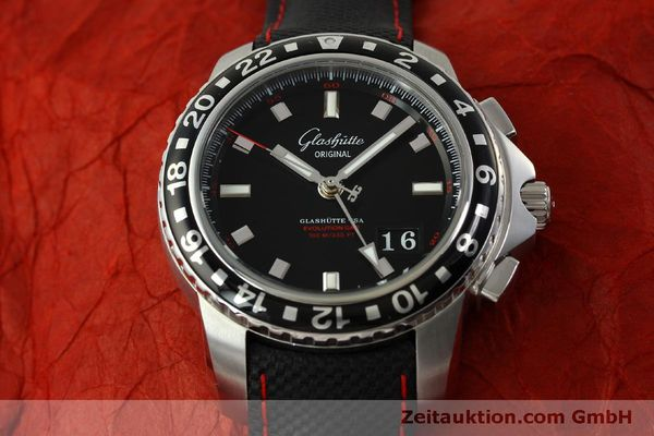 Used luxury watch Glashütte Sport Evolution  steel automatic Kal. 39 Ref. 39-55-43-03-14  | 151295 16