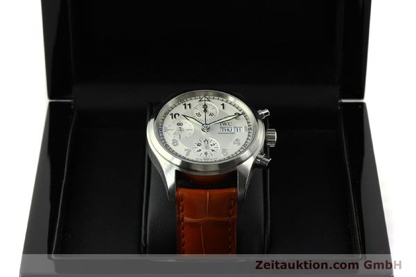 Used luxury watch IWC Fliegerchronograph chronograph steel automatic Kal. 79320 Ref. 3706  | 151296 07