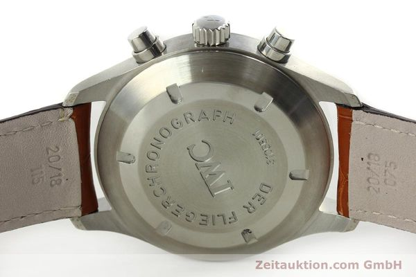 Used luxury watch IWC Fliegerchronograph chronograph steel automatic Kal. 79320 Ref. 3706  | 151296 08