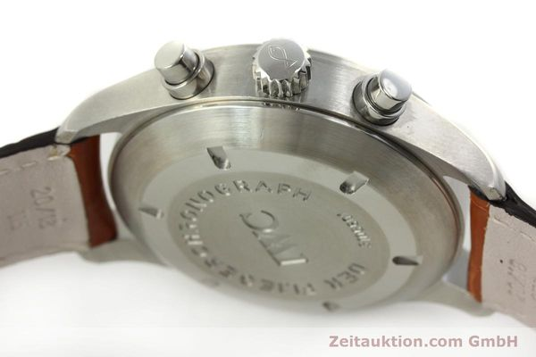 Used luxury watch IWC Fliegerchronograph chronograph steel automatic Kal. 79320 Ref. 3706  | 151296 11