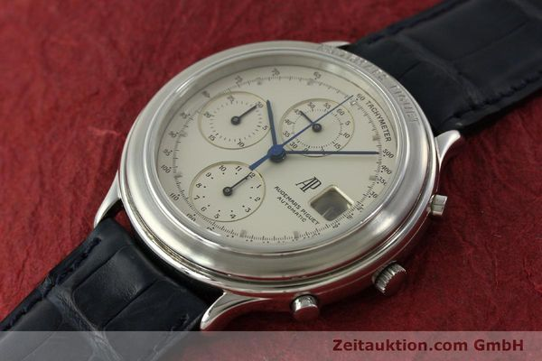 Used luxury watch Audemars Piguet * chronograph steel automatic Kal. 2126 Ref. ST256440002  | 151298 01