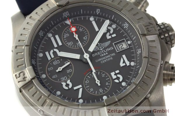 Used luxury watch Breitling Avenger chronograph titanium automatic Kal. B13 ETA 7750 Ref. E13360  | 151304 02