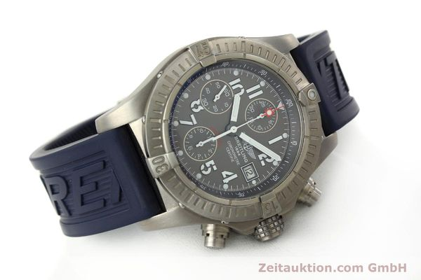 Used luxury watch Breitling Avenger chronograph titanium automatic Kal. B13 ETA 7750 Ref. E13360  | 151304 03