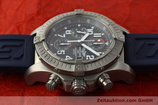 Used luxury watch Breitling Avenger chronograph titanium automatic Kal. B13 ETA 7750 Ref. E13360  | 151304 05