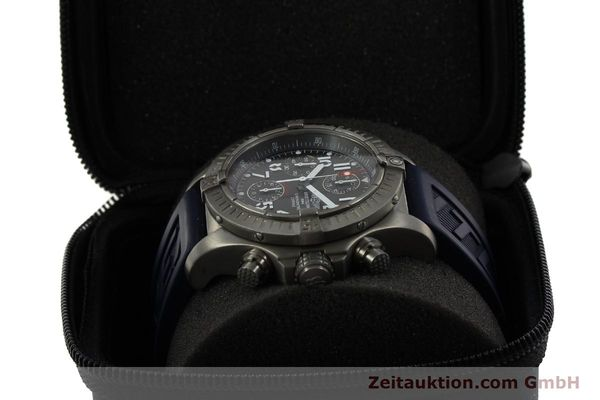 Used luxury watch Breitling Avenger chronograph titanium automatic Kal. B13 ETA 7750 Ref. E13360  | 151304 07